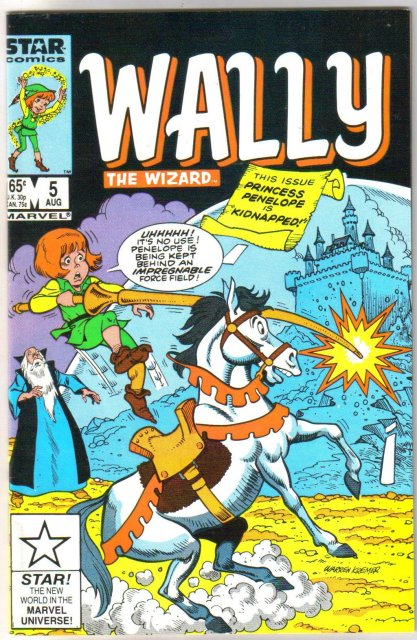 Wally The Wizard #5 comic book  mint 9.8