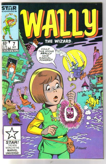 Wally The Wizard #7 comic book  mint 9.8