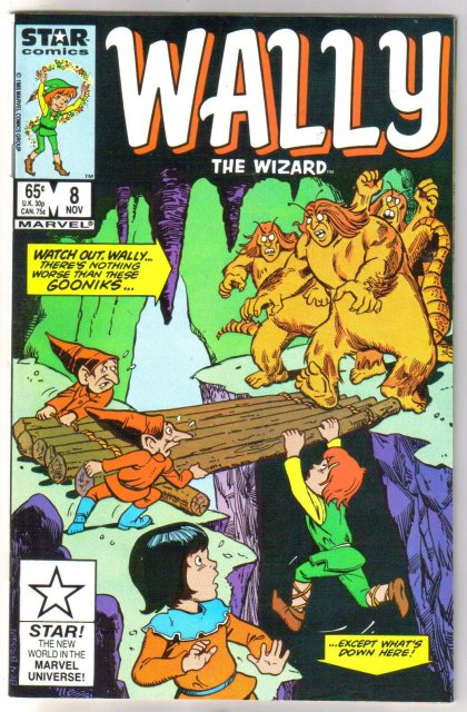 Wally The Wizard #8 comic book  mint 9.8