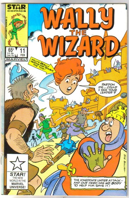 Wally The Wizard #11 comic book  mint 9.8
