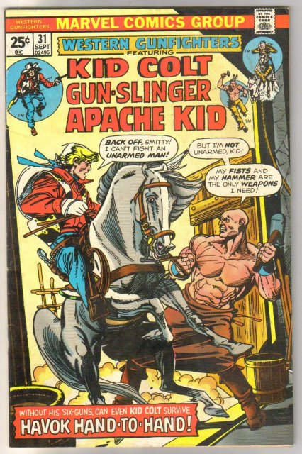 Western Gunfighters #31 comic book fine 6.0