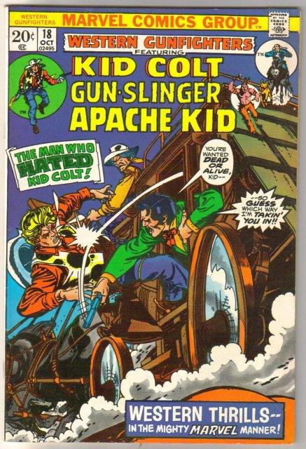Western Gunfighters #18 comic book fine/very fine 7.0