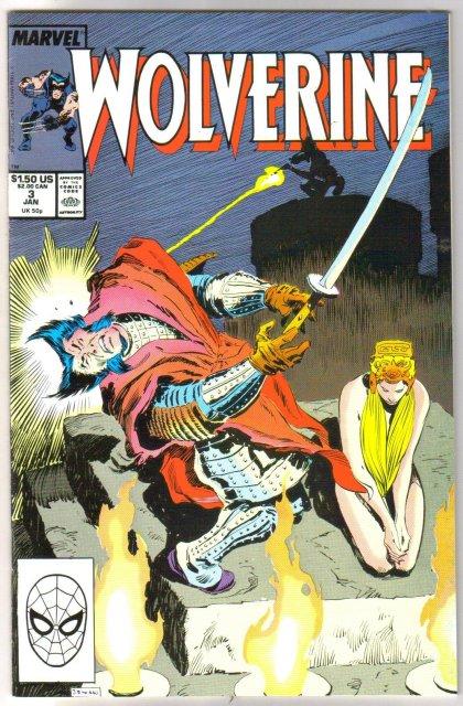 Wolverine #3 comic book  mint 9.8