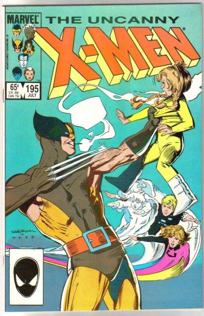 Uncanny X-Men #195 comic book mint 9.8
