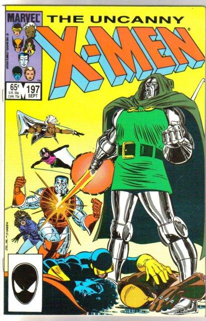 Uncanny X-Men #197 comic book mint 9.8