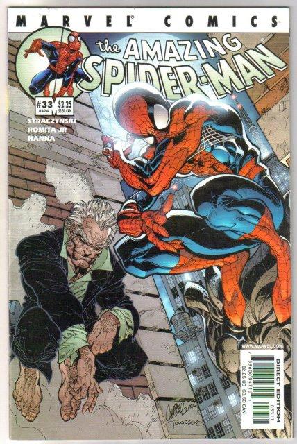 Amazing Spider-man vol 2 #33 comic book near mint 9.4