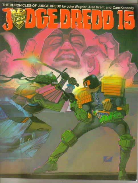 Judge Dredd 15 graphic novel from Titan Books