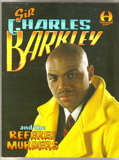 Charles Barkley and the Referee  Murders brand new mint graphic novel