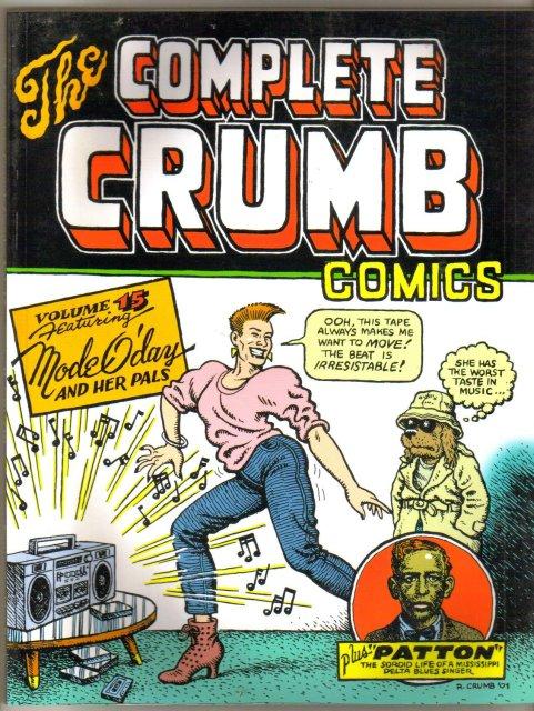 The Complete Crumb Comics volume 15 graphic novel brand new mint