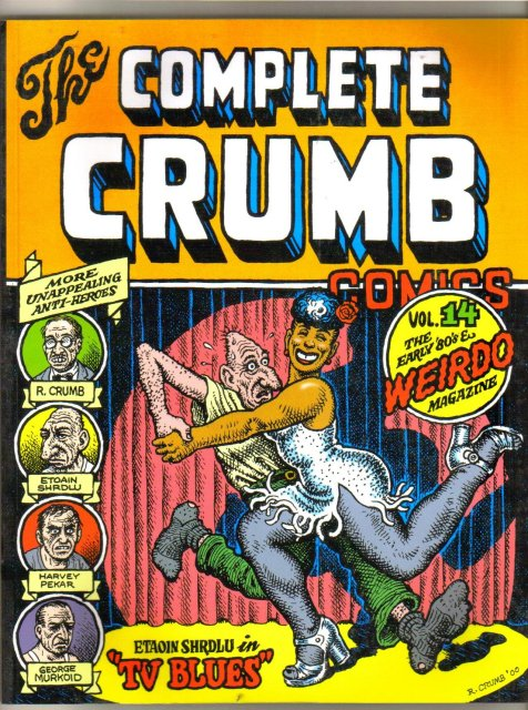 The Complete Crumb Comics volume 14 graphic novel brand new mint