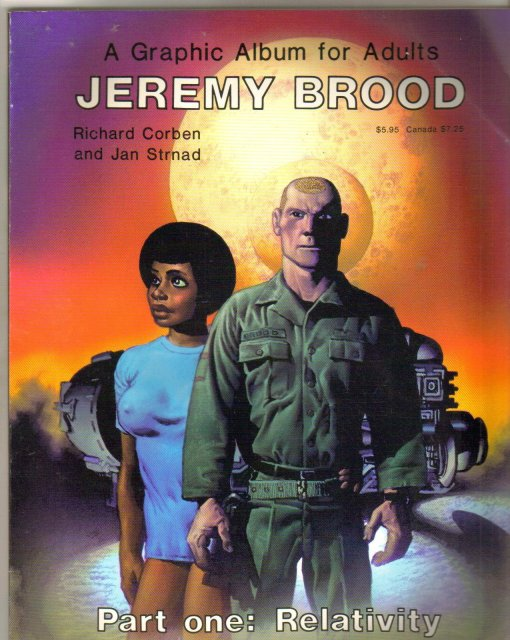 Jeremy Brood Part One: Relativity graphic novel very fine