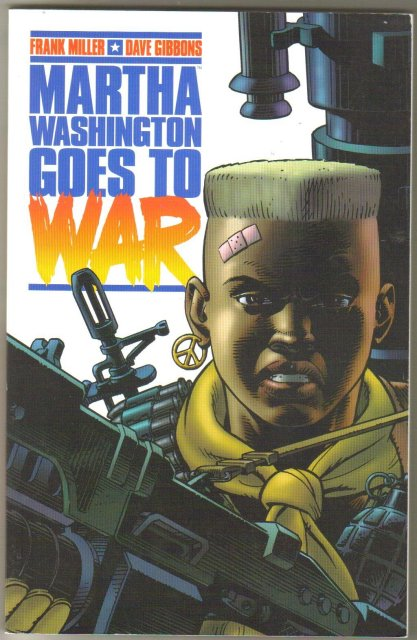 Martha Washington Goes to War graphic novel brand new mint