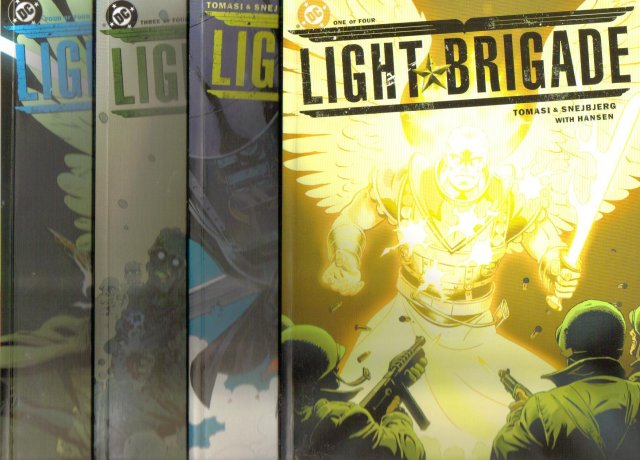 Light Brigade by Tomasi and Snejbjerg  original series 1 to 4