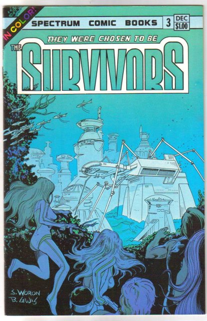 The Survivors comic book set of 4 (1983) and 2 (1986)