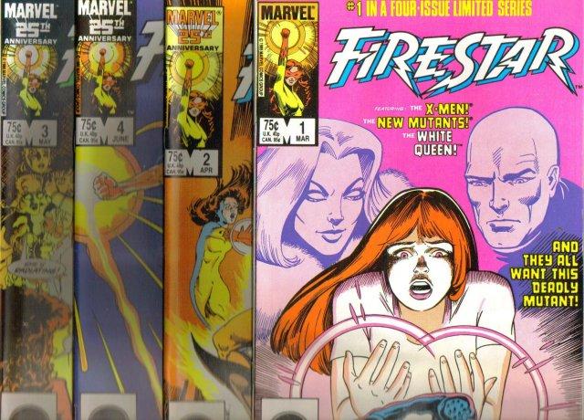 Firestar original set all near mint 9.4