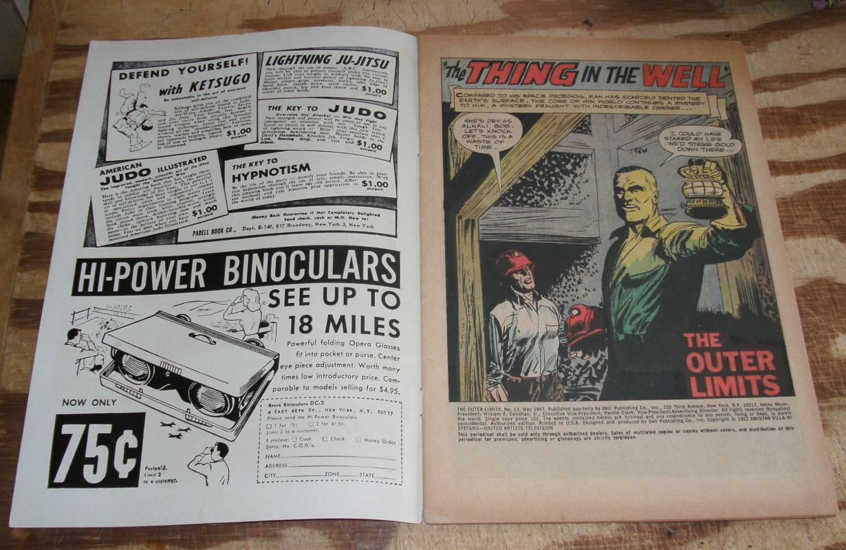 Outer Limits #13  comic book fn/vf 7.0