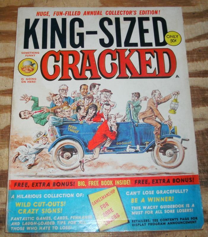 Cracked Annual #1 comic book magazine fn+ 6.5