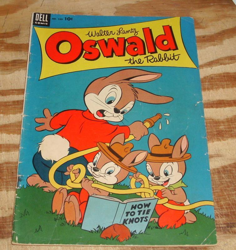 Oswald the Rabbit  #549 comic book vg 4.0