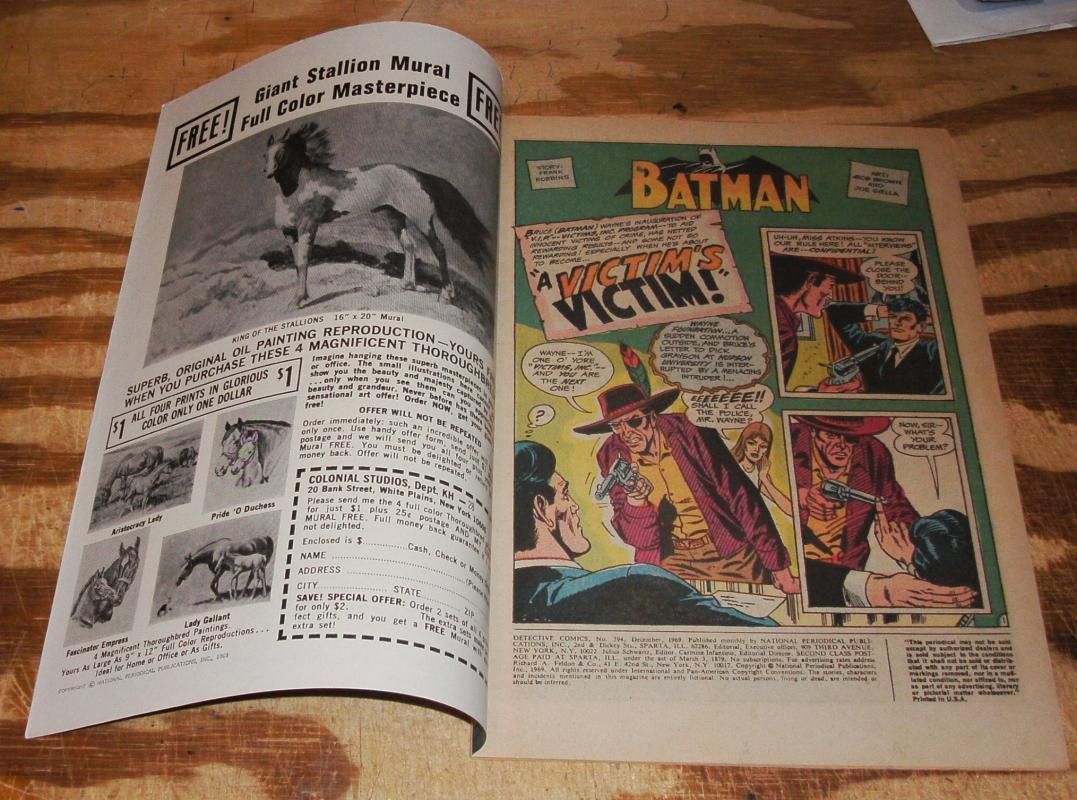 Detective Comics #394 vf/nm 9.0