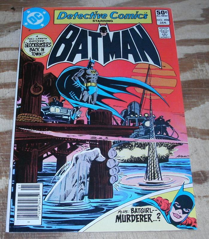 Batman's  Detective Comics #498 nm/m 9.8
