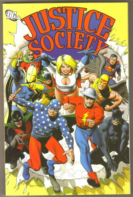 Justice Society volume 1 trade paperback brand new mint