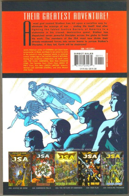 Justice Society Returns trade paperback brand new mint