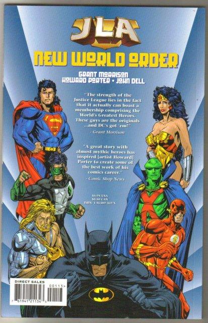 JLA New World Order trade paperback brand new mint