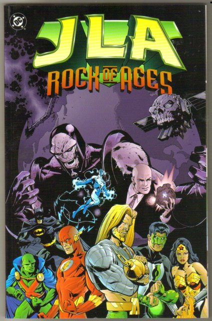 JLA Rock of Ages trade paperback brand new mint