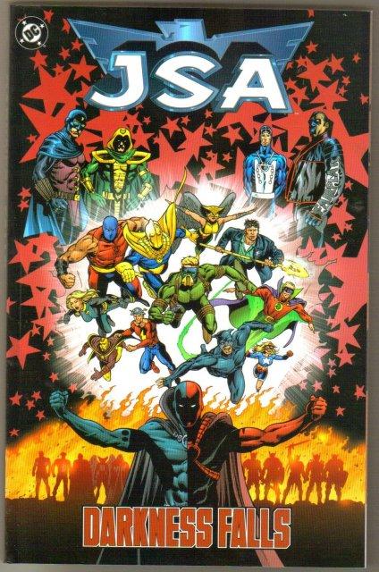 JSA Darkness Falls trade paperback brand new mint