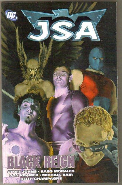 JSA Black Reign trade paperback brand new mint