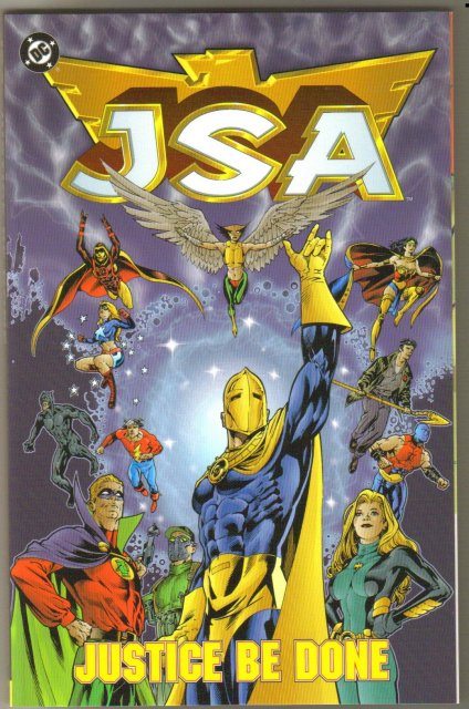 JSA Justice be Done trade paperback brand new mint