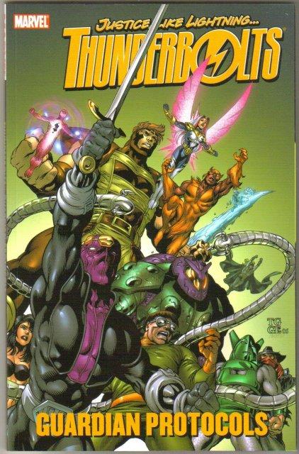 Thunderbolts Guardian Protocols trade paperback brand new mint