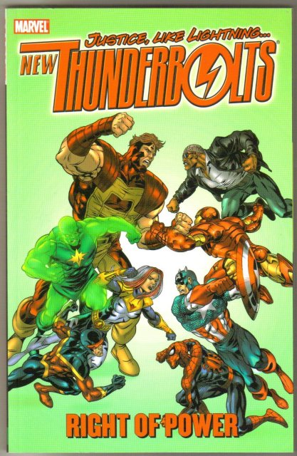 Thunderbolts Right of Power trade paperback brand new mint