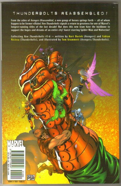 New Thunderbolts One Step Forward trade paperback brand new mint