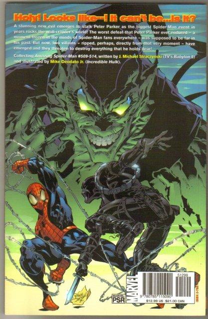 The Amazing Spider-man volume 8 Sins Past trade paperback  brand new  mint