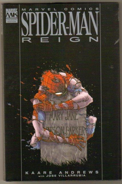 Spider-man Reign hardback  brand new  mint