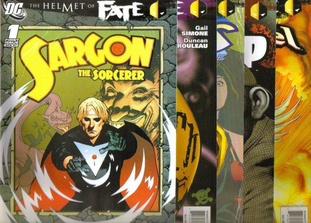 The Helmet of Fate set of 5 mint comic books