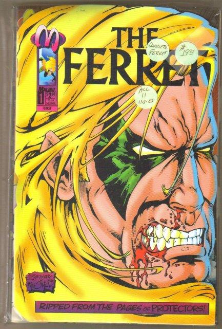The Ferret set of 11 mint comic books