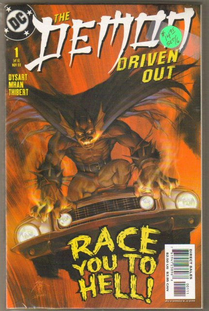 The Demon Driven Out 6 issue comic book mini-series