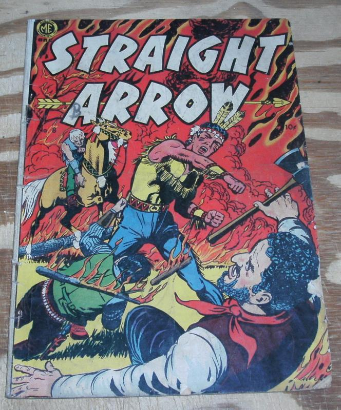 Straight Arrow #8 comic book good 2.0