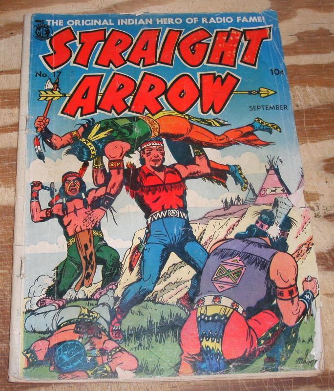 Straight Arrow #17 comic vg 4.0