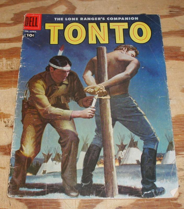 Tonto #30 comic book very good 4.0