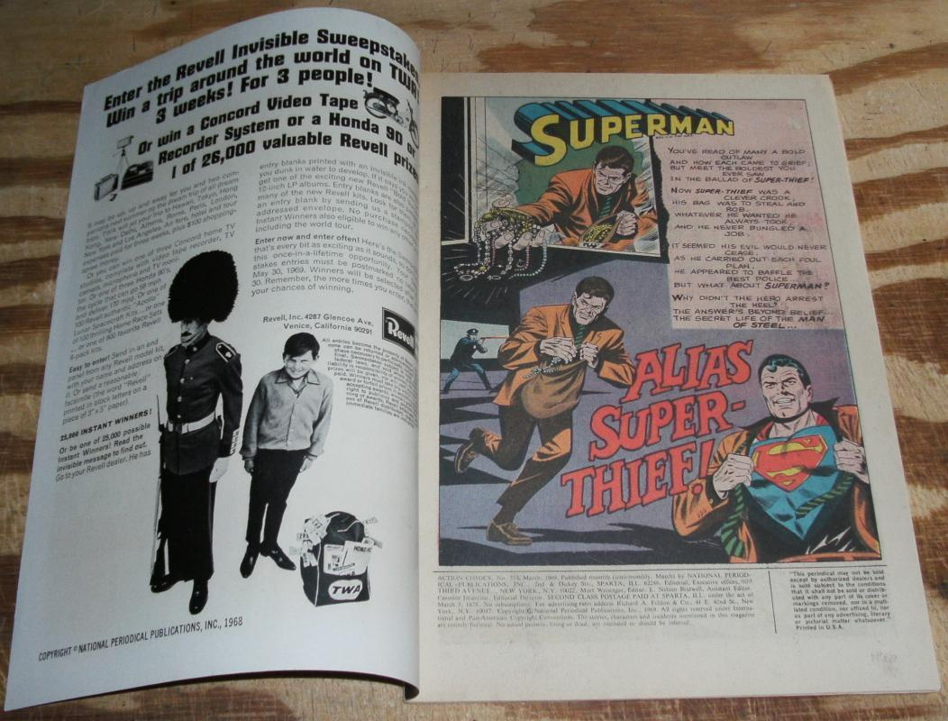 Action Comics Featuring Superman and Supergirl #374 comic book very good/fine 5.0