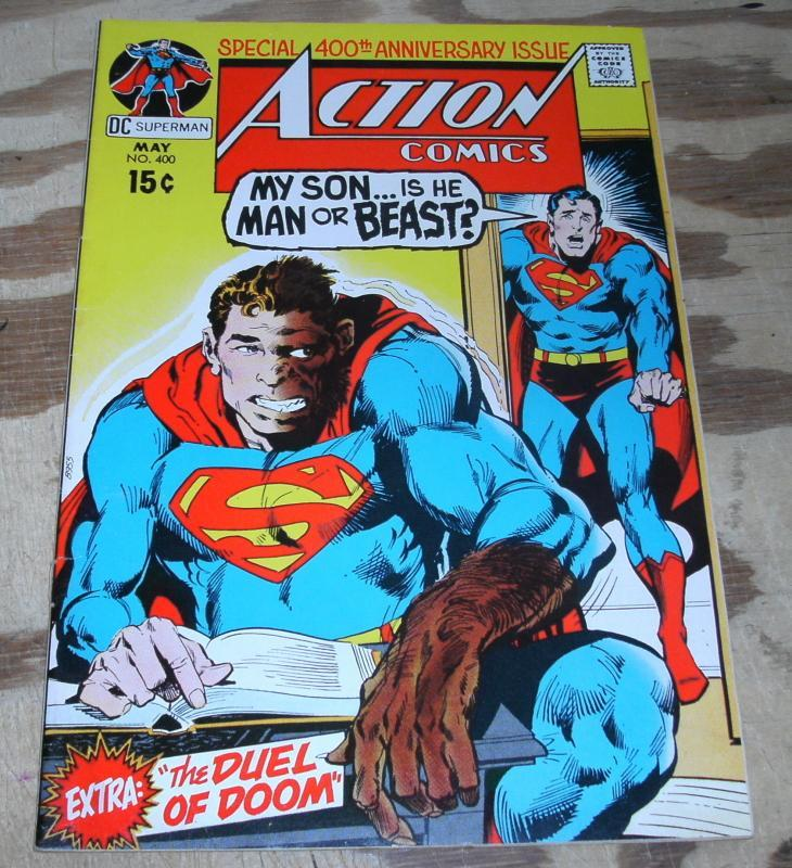 Action Comics Featuring Superman #400 vf/nm 9.0