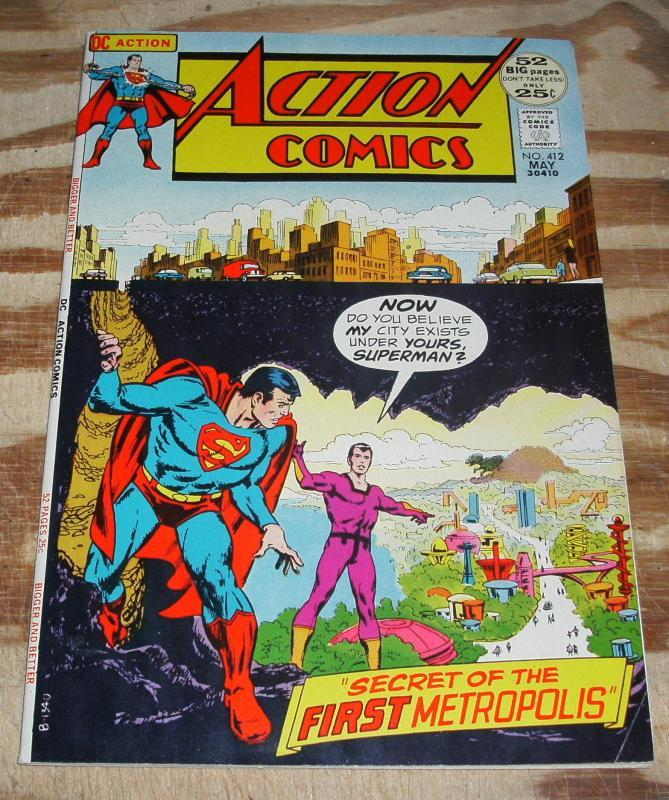 Action Comics Featuring Superman #412 vf/nm 9.0