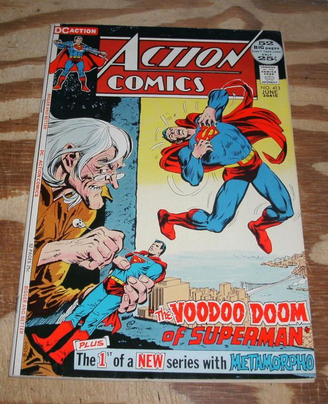 Action Comics Featuring Superman #413 vf 8.0