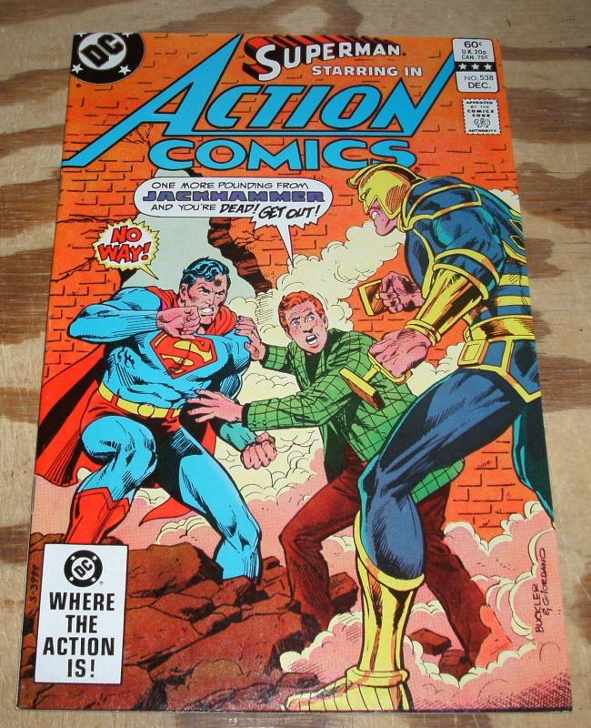 Superman Starring  in Action Comics #538 nm/m 9.8