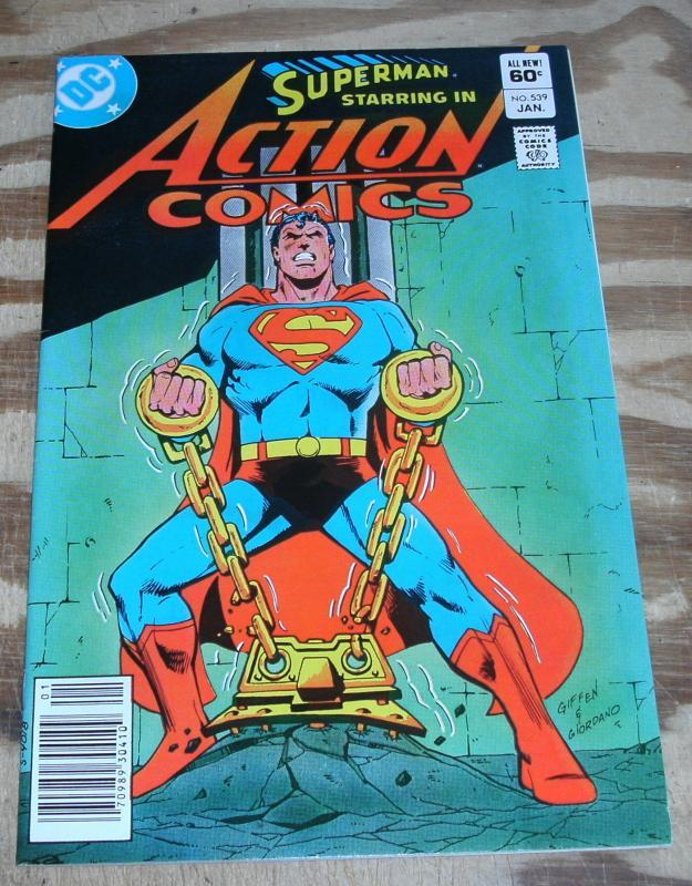 Superman Starring  in Action Comics #539 nm/m 9.8