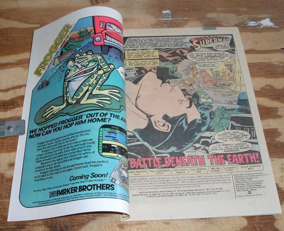 Superman Starring  in Action Comics #536 near mint/mint 9.8