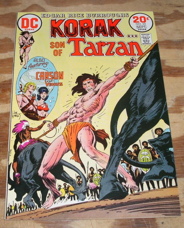 Korak Son of Tarzan #53 near mint 9.4
